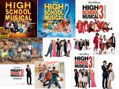 High school musical 1,2,3
