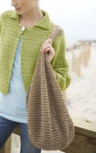 Big Crochet Bag I NEED THIS ONE!