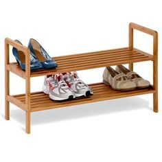 2 tier Bamboo Shoe Shelf also available in 3 tier #treehugger  #savetheplanet #climatechange #plantatree #bamboo