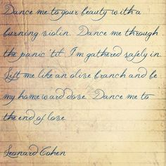 Beautiful words make me swoon.