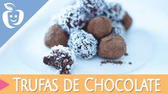 Receitas: Trufas de Chocolate - SEM COZINHAR