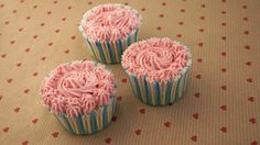 Pink Beet Cupcakes