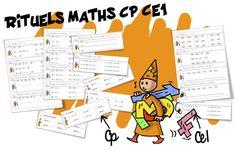 Rituels maths : CP et CE1