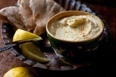 Hummus turco con yogurt