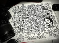 Photographer's Doodle by leight