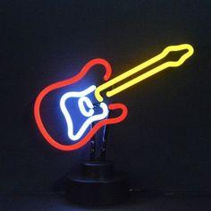 Neonetics Electric Guitar Neon Sculpture