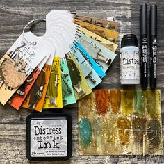 Distress Ink Techniques, Art Journal Techniques, Embossing Techniques, Tim Holtz Blog, Art Journal Tutorial, Art Lessons Elementary, Paper Tags, Artist Trading Cards, Mixed Media Canvas