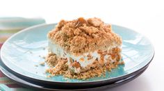 First, we brought you Strawberry Crunch Cake, then Creamsicle™ Crunch Cake. Now we present the gloriously cinnamon-ey Snickerdoodle Crunch Cake. A quick and easy no-bake dessert, spiked with Cinnamon Toast Crunch™!