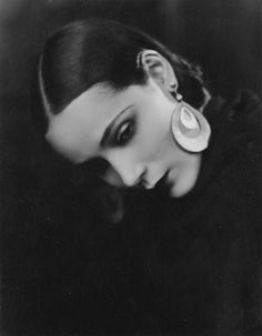 Dolores del Rio(1905-1983)... 1920s.  Dolores del Río was a Mexican film actress. She was a star in Hollywood in the 1920s and 1930s, and was one of the most important female figures of the Golden Age of Mexican cinema in the 1940s and 1950s.