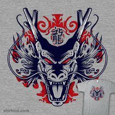 5H3NR0N | Shirtoid #anime #dragon #dragonball #dragonballz #shenron #studiom6 #tvshow