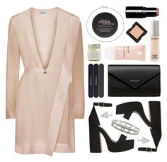 """Pink posie"" by sophiehackett ❤ liked on Polyvore featuring Serge Lutens, Juice Beauty, Bobbi Brown Cosmetics, Balenciaga, philosophy, MAC Cosmetics, Brooklyn Candle Studio, La Roche-Posay, Tiffany & Co. and Edge of Ember"