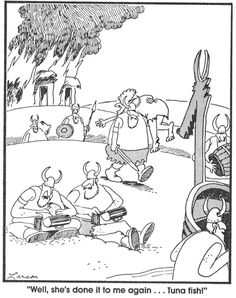 The Far Side comics by Gary Larson