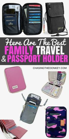 2020 Guide To The Best Family Passport Holders Best Carry On Luggage, Carry On Packing, Travel Packing, Travel Tips, Travel Plan, Travel Articles, Travel Advice, Travel Guides, Family Vacation Destinations