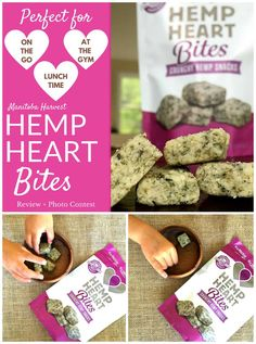 Manitoba Harvest Hemp Heart Bites: Portable & Perfect for On-The-Go Snacking! | The Fit Foodie Mama