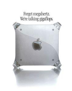 "Power Macintosh G4 ""Giga Flops"" 1999"