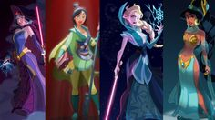 Star Wars, Disney Princess