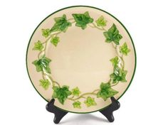 Franciscan Ware Ivy plates 2 Franciscan Ivy by FindsFromYesteryear, $15.99