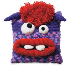 Monster Pillow - the pattern is in the link Joce