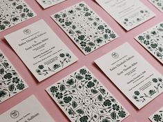 by Bailey Sullivan on Dribbble # Unique Invitations Wedding Invitations! Pocket Wedding Invitations, Handmade Wedding Invitations, Destination Wedding Invitations, Letterpress Wedding Invitations, Printable Wedding Invitations, Wedding Invitation Design, Invites, Unique Invitations, Gala Invitation