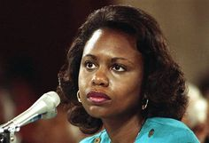 Anita Hill - phenomenal lawyer who  gave a voice and face to workplace sexual harassment in the United States.