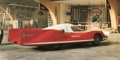 Abarth Alfa Romeo 1100 Record Car (Pininfarina), 1957 - Geneva'58 concept
