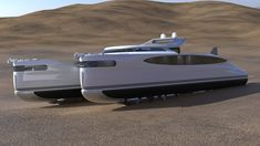 Amphibious Vehicle, Electric Winch, Sun And Water, Yacht Design, Wide Body, Super Yachts, Catamaran, Diesel Engine, Water Crafts