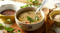 Šošovicová polievka   Recepty.sk Cheeseburger Chowder, Beans, Vegetables, Cooking, Ethnic Recipes, Soups, Kitchen, Vegetable Recipes, Soup