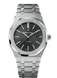Shop Now Audemars Piguet Royal Oak Selfwinding Mens Watches UAE Blue Dial with Grande Tapisserie Pattern Ref No. Audemars Piguet Gold, Audemars Piguet Diver, Audemars Piguet Watches, Amazing Watches, Beautiful Watches, Cool Watches, Dream Watches, Fine Watches, Men's Watches