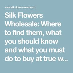 Wholesale silk flower bouquets and assortments rj carbone floral silk flowers wholesale where to find them what you should know and what you mightylinksfo