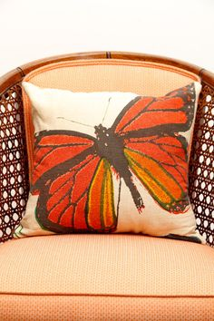 Flutter Pillows by FoundDesignMiami on Etsy, $30.00