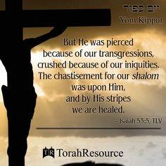 Yom Kippur, Crucified, Yeshua, Messianic