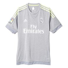 The adidas Real Madrid away replica jersey is perfect for those wanting to  become one of the famous Madrid legends. Shop adidas Real Madrid Shirts  onlnine ... 3dfd98e0ebd0e