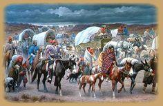 Les soldats à cheval forcèrent à marcher, pendant 1750 kilomètres, jusqu'à l'épuisement, 15 000 Indiens, hommes, femmes et enfants: 4000 d'entre eux devaient mourir en route.  Les grands chefs de la résistance indienne, tous martyrs, le roi Philip, Joseph Brant, Black Hawk, Cochise, Géronimo, Chief Joseph, Crazy Horse, Sitting Bull.