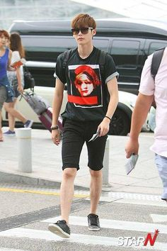 Lee Jong Suk (이종석) Heading to Davao