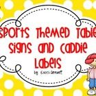 FREE! Cute addition to your sports themed classroom!  Hope you enjoy this freebie!...