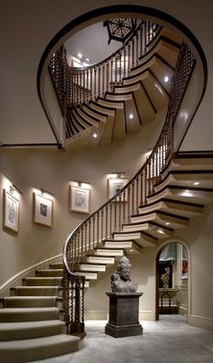 Lovely staircase.