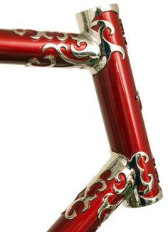 Head Tube - Waterford Nuevo-Coco Custom Lug | Flickr - Photo Sharing!