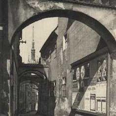 Ulice, Prague, Retro, Mid Century