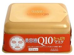 Kose Clearturn White Coenzyme Q10 Paper Facial Mask -22 Piece by Kose. $19.85. suitable for all skin type / dry and delicate skin. Kose Clear Turn Q10 Essence Mask is well-soaked with Coenzyme Q10 essence which infiltrates the horny layer, keeping skin elastic and adding glossy shine to skin.. country of origin Japan. + Hydrating coenzyme Q10 essence, white lily extract, and glycerine + No fragrance or artificial coloring + Helps skin become moisturized and maintain el...