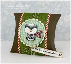 purpleoniondesigns - Stacey Yacula Studio - Frost (penguin w/ scarf), $4.75 (http://stores.purpleoniondesigns.com/stacey-yacula-studio-frost-penguin-w-scarf/)
