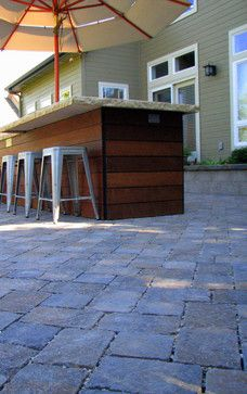 Wood Outdoor Bar Design Ideas, Pictures, Remodel, and Decor