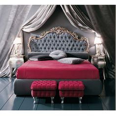 french rococo furniture reproductions | Rococo Bed | Mahogany Bedroom Sets | French Furniture | Indonesia ...