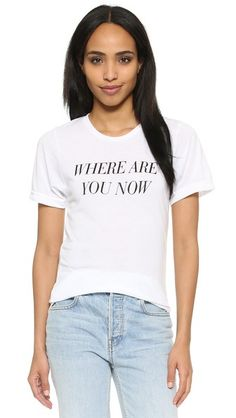 Private Party Where Are You Now Tee