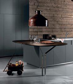HD23 | Kitchen by ROSSANA RB | #design Massimo Castagna