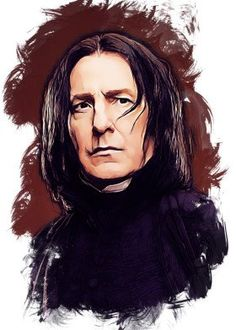 68 Ideas For Harry Potter Art Drawings Sketches Severus Snape Harry Potter Painting, Harry Potter Artwork, Harry Potter Drawings, Harry Potter Tumblr, Harry Potter Anime, Harry Potter Pictures, Harry Potter Wallpaper, Harry Potter Characters, Harry Potter World
