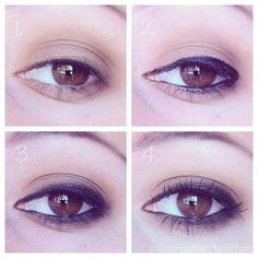 kylie jenner tutorial   http://makeup-madness.tumblr.com/