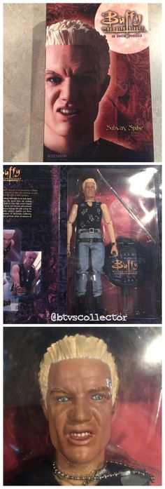 """Sideshow Collectibles (1:6 Scale) 12"""" Buffy the Vampire Slayer Figure - Subway Spike. #btvscollector #btvs #buffy #buffythevampireslayer"""