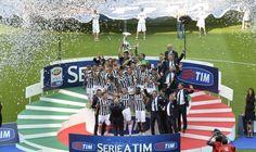 Juventus vs Cagliari - premiazione