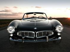 The BMW 507 (1956-59) was a roadster produced by BMW from 1956 to 1959. It is thought by many to be one of the most beautiful automobiles ever produced. The BMW 507 was the brainchild of BMW importer Max Hoffman, who in 1954 persuaded the BMW management to produce a roadster version of the BMW 502 that could compete with Jaguar and Mercedes-Benz sports cars. https://www.google.co.uk/search?q=The+BMW+507&biw=1366&bih=622&source=lnms&tbm=isch&sa=X&ei=LqD5VP-MC4PhaN_sgsgF&ved=0CAYQ_AUoAQ