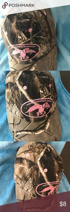 Ladies duck commander hat Ladies camp and pink duck commander hat duck commander Accessories Hats